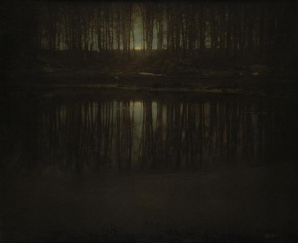 Edward Steichen. 'The Pond - Moonrise' 1904