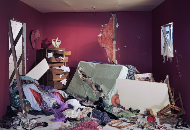 Jeff Wall Canadian 1946- 'The Destroyed Room' 1978