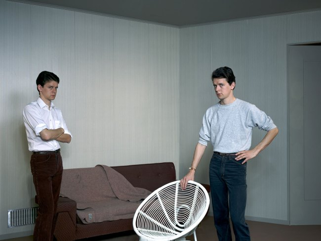 Jeff Wall. 'Double Self-Portrait' 1979