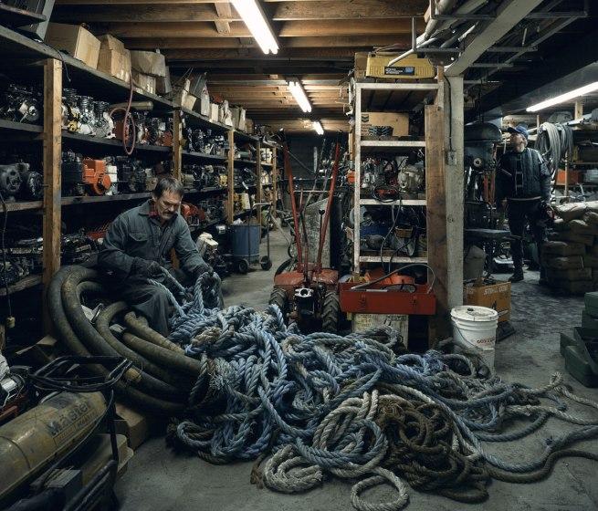Jeff Wall Canadian 1946- 'Untangling' 1994, printed 2006