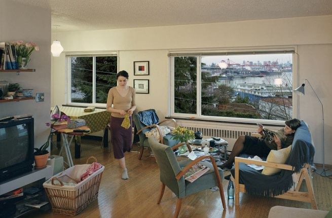 Jeff Wall Canadian 1946- 'A view from an apartment' 2004-05