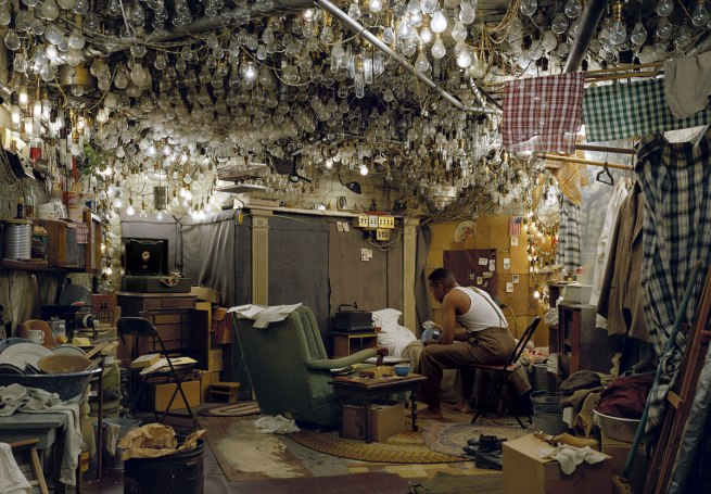 Jeff Wall Canadian 1946- 'After 'Invisible Man' by Ralph Ellison, the Prologue' 1999-2000