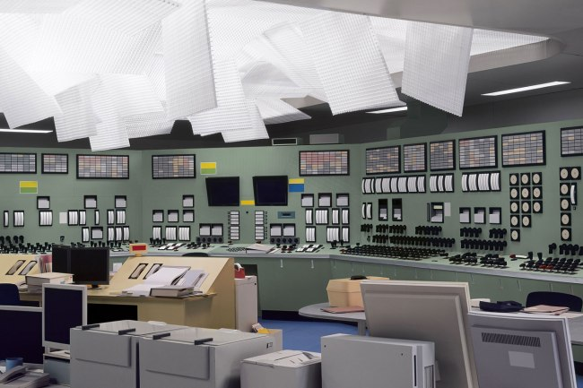Thomas Demand German 1964- 'Kontrollraum / Control Room' 2011