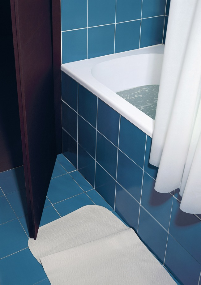 Thomas Demand German 1964- 'Badezimmer / Bathroom' 1997