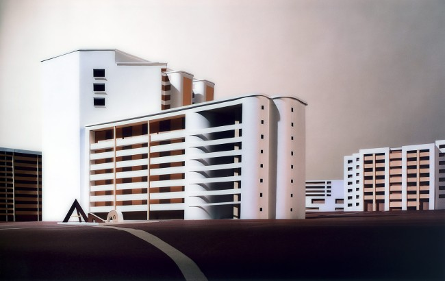 Thomas Demand. 'Public housing' 2003