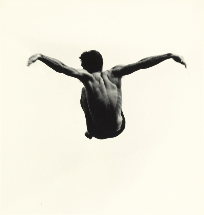 Aaron Siskind (American, 1903-1991) 'Pleasures and Terrors of Levitation 94' 1961