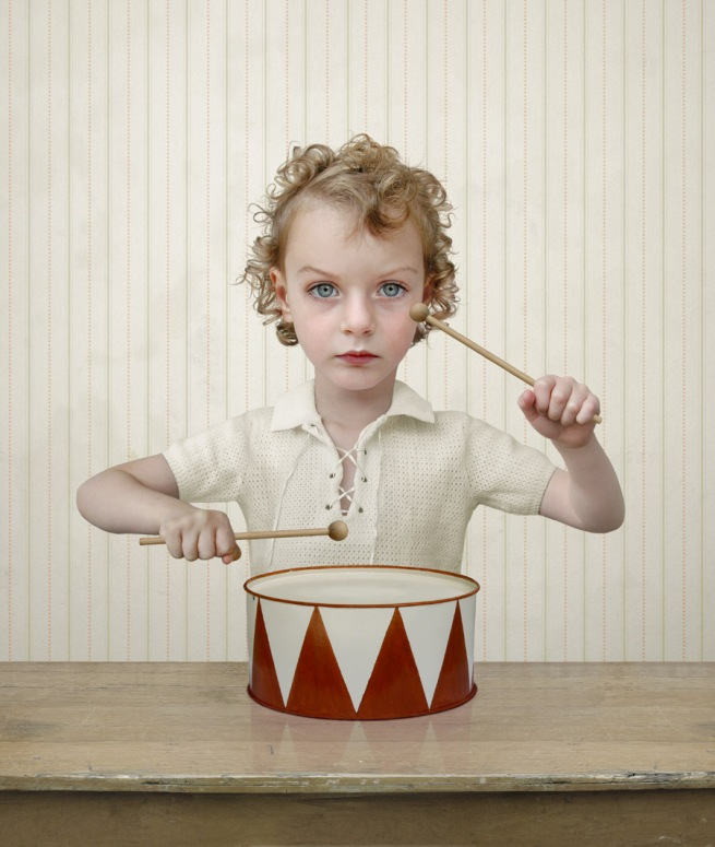 Loretta Lux 1969 Dresden, Saxony, Germany 'The drummer' 2004