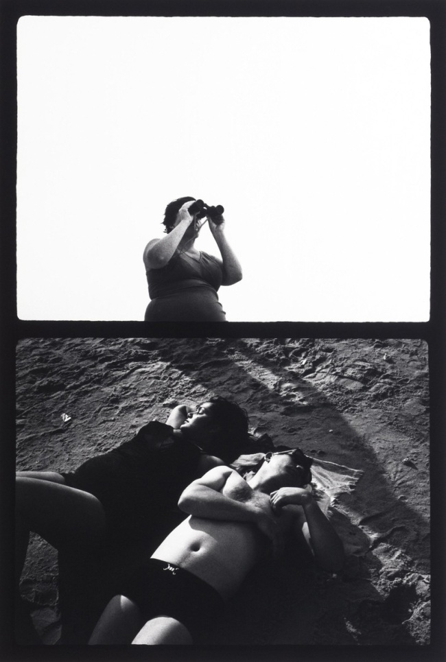 Ray K. Metzker (American, 1931-2014) 'Couplets: Atlantic City' negative 1969; print 1984