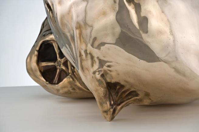 Patricia Piccinini. 'The Uprising' 2008 bronze (detail)