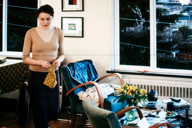 Jeff Wall Canadian 1946- 'A view from an apartment' 2004-05 (detail)