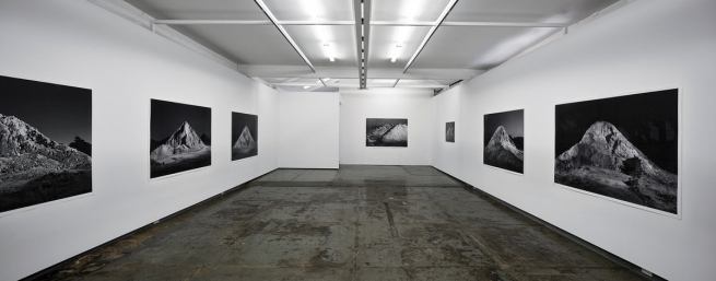 Installation view of 'Andrew Curtis: Moonlight Mile' at Blockprojects, Melbourne