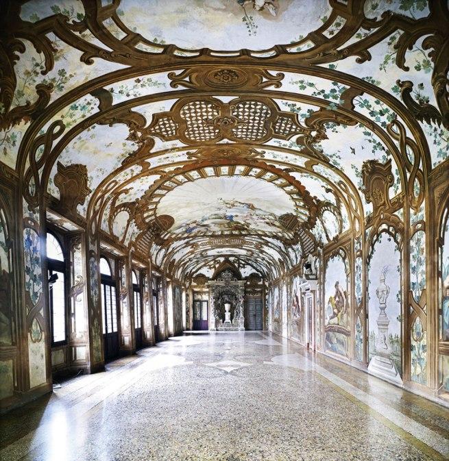 Candida Höfer. 'Palazzo Ducale Mantova III' 2011