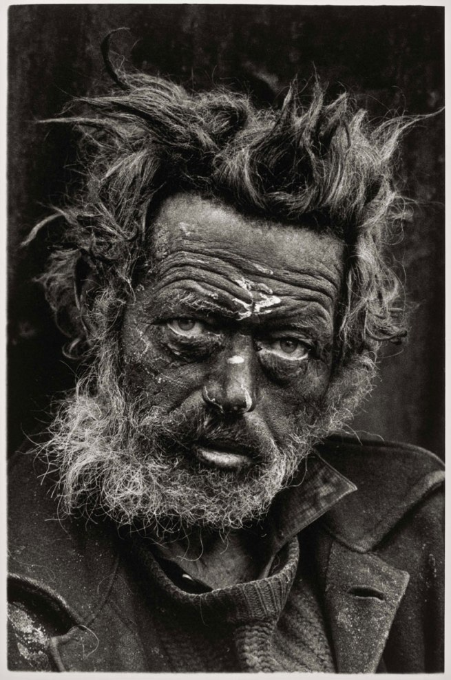 Don McCullin. 'Homeless Irishman, Aldgate, East End, London' 1970