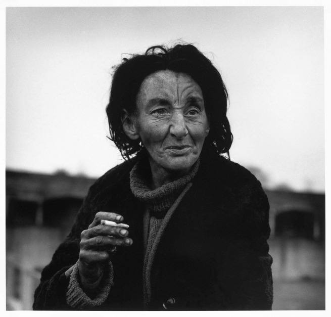 Don McCullin. 'Jean, a homeless woman, Aldgate, East End, London' 1984, printed c. 1985