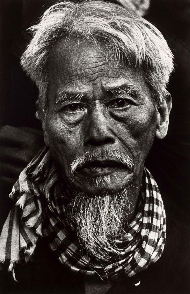 Don McCullin. 'Old Vietnamese man, Tet Offensive, Hué, South Vietnam' February 1968