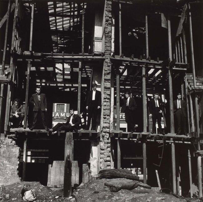 Don McCullin. 'The Guvnors, Finsbury Park, London' 1958