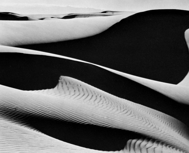 Edward Weston. 'Dunes, Oceano' 1936