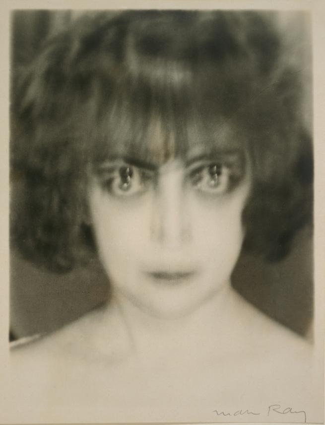 Man Ray, American, 1890 - 1976. 'Marquise Casati' 1922