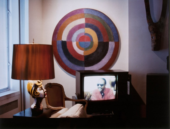 Louise Lawler. 'Living Room Corner Arranged by Mr. and Mrs. Burton Tremaine, Sr.,' 1984