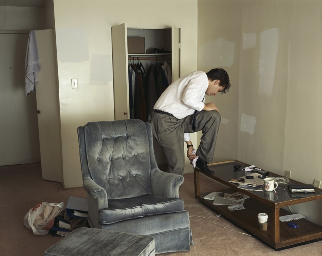 Jeff Wall Canadian 1946- 'Polishing' 1998