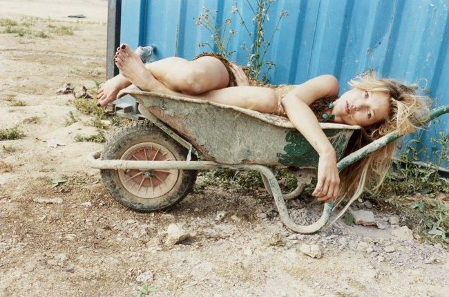Juergen Teller(German, b. 1964) 'Kate Moss, No.12, Gloucestershire, 2010' 2010