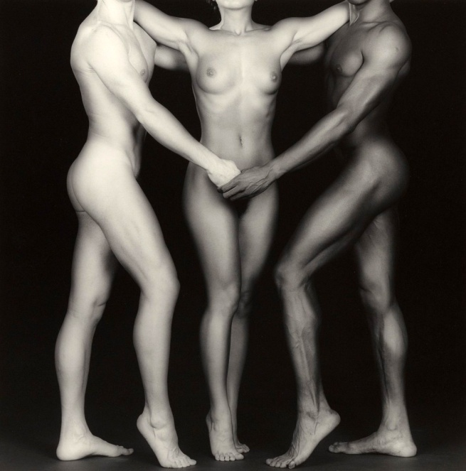 Robert Mapplethorpe. 'Ken and Lydia and Tyler Negative' 1985, print 2004