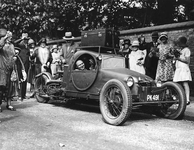 English tricar, 1920s-30s