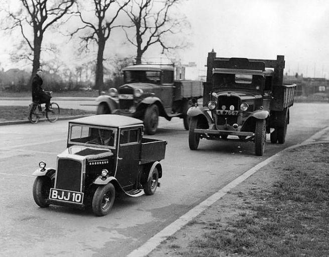 Miniature lorry, English c.1920s-30s?