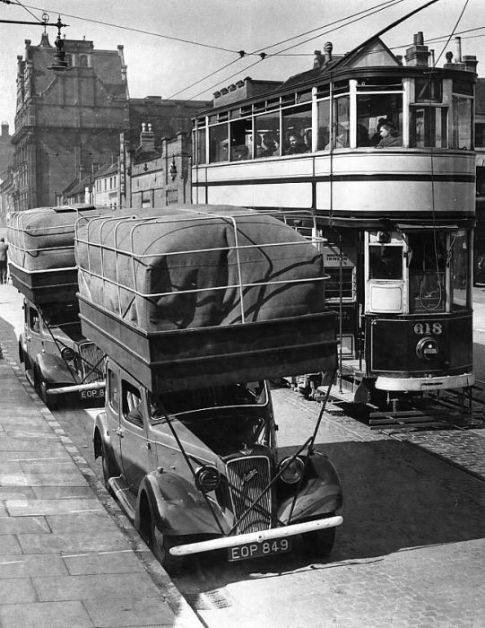 English Gas bag vehicles c.1940