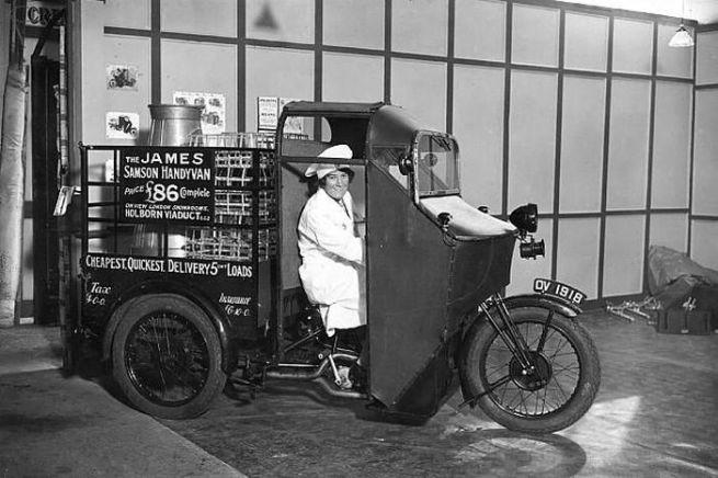 'The James Samson Handyvan' 1933-1939