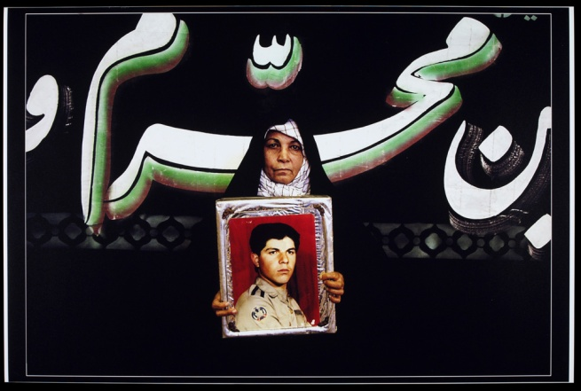 Newsha Tavakolian. From the series 'Mothers of Martyrs' 2006
