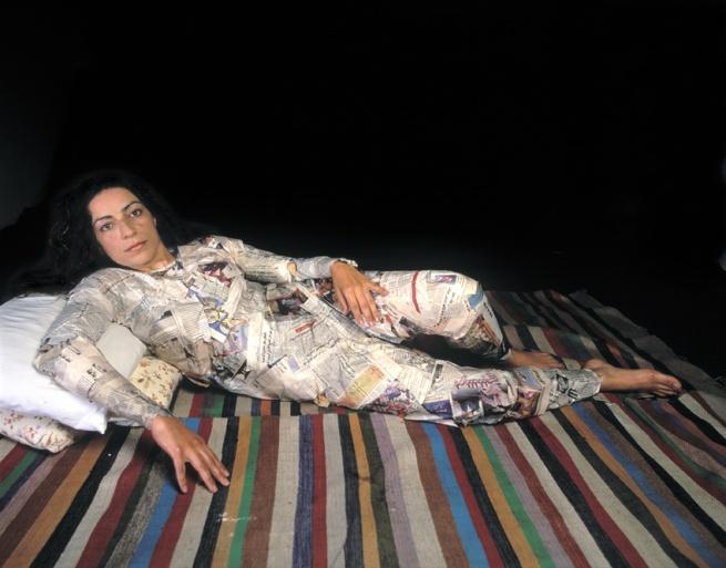 Raeda Saadeh. 'Who will make me real?' 2003