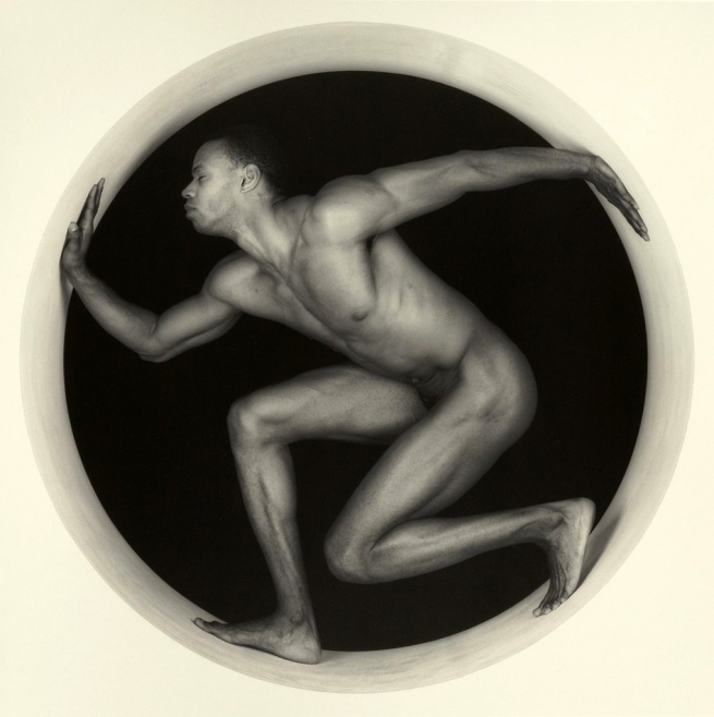 Robert Mapplethorpe. 'Thomas' Negative 1987; print 1994