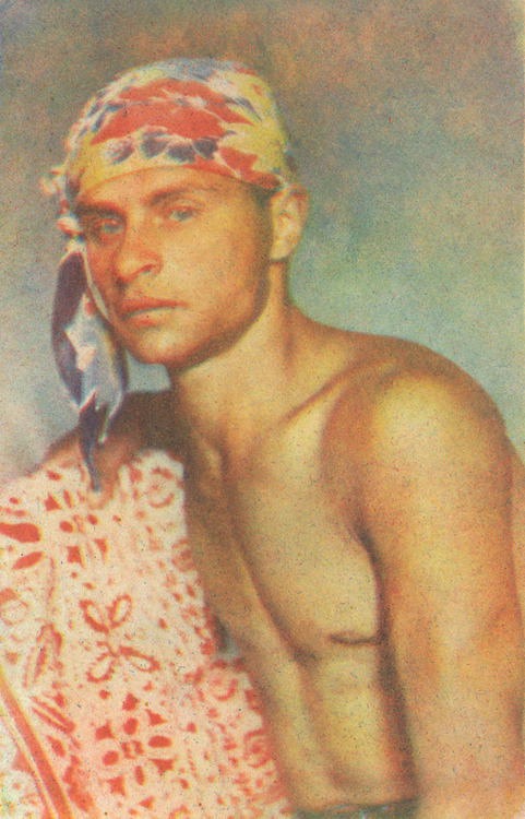Vladislav Mikosha. 'Portrait of Yury Rypalov' 1938-1939