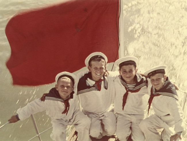 Yakov Khalip. 'Sea cadets' End of 1940s