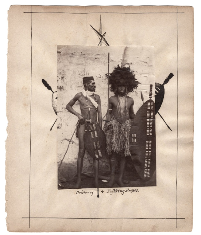 Caney Brothers, inscribed: 'Ordinary & Fighting Dresses.' South Africa, late nineteenth century