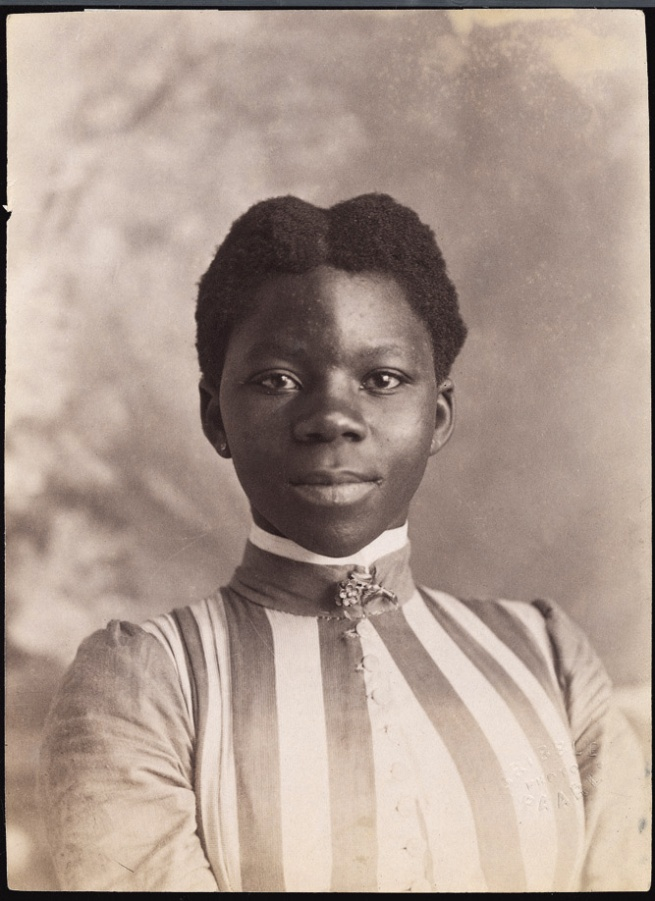 A. James Gribble, inscribed: 'Kaffer woman' South Africa, late nineteenth century