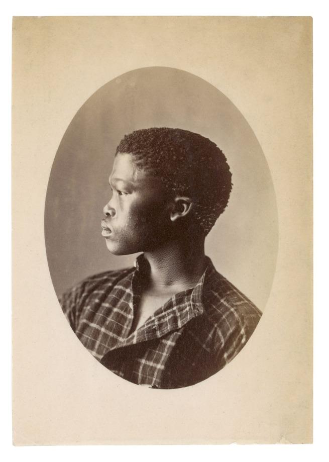 Samuel Baylis Barnard. 'Hottentott S. Africa [Portait of /A!kunta]' South Africa, early 1870s