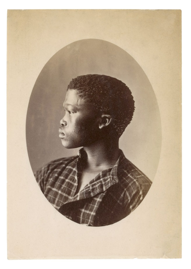 Samuel Baylis Barnard. 'Hottentott S. Africa [Portait of /A!kunta]' South Africa, early 1870s