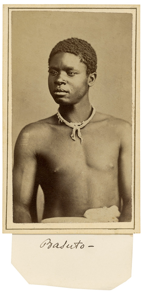 John Salmon. 'Basuto' South Africa, c. 1870s