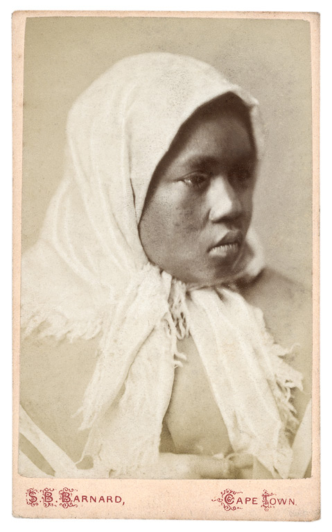 Samuel Baylis Barnard. 'Photograph of a woman' South Africa, late nineteenth century