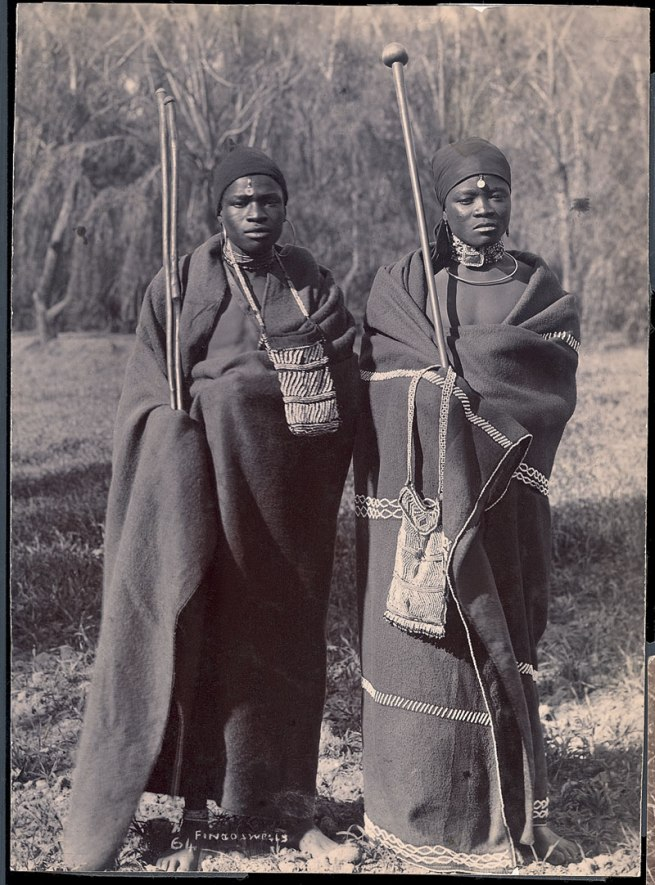 Unidentified photographer. 'Fingo swells' South Africa, late nineteenth century