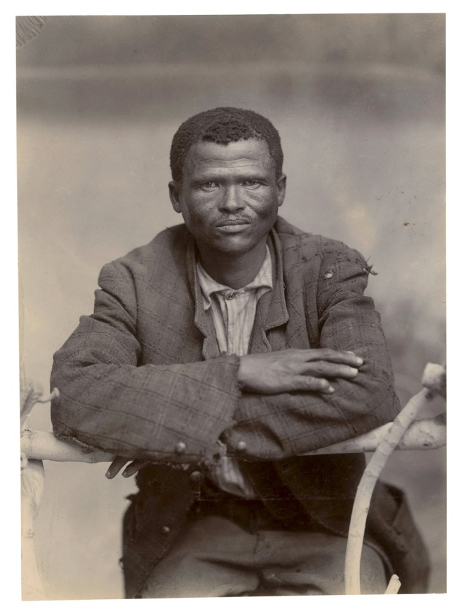 Unidentified photographer. 'Bushman' South Africa, late nineteenth century