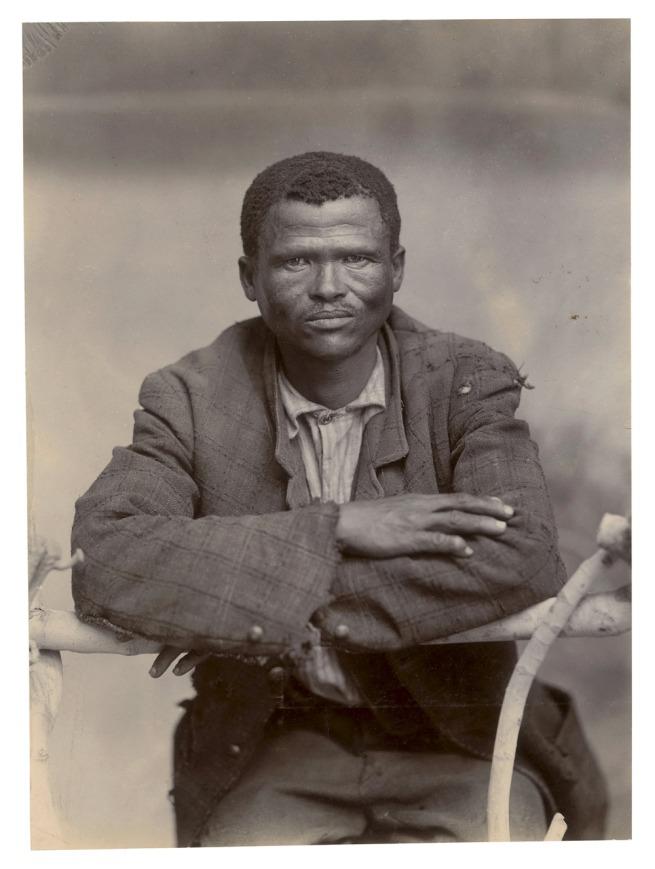 Unidentified photographer. 'Bushman' South Africa, late nineteenth century