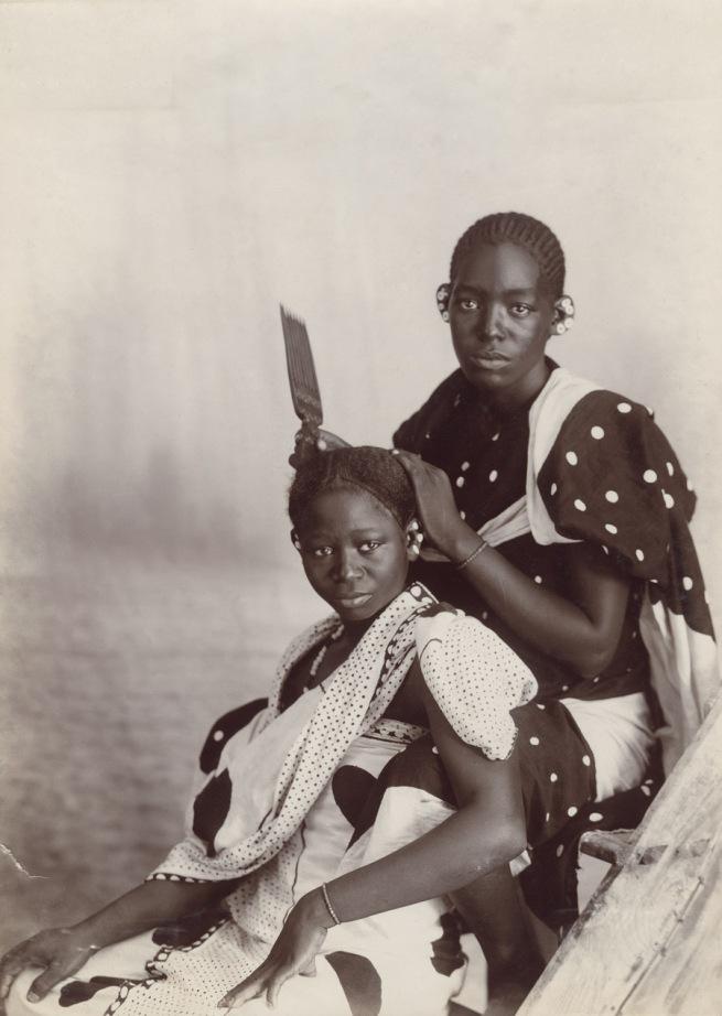 A.C. Gomes & Son. 'Views in Zanzibar - Natives Hairdressing' Tanzania Late nineteenth century