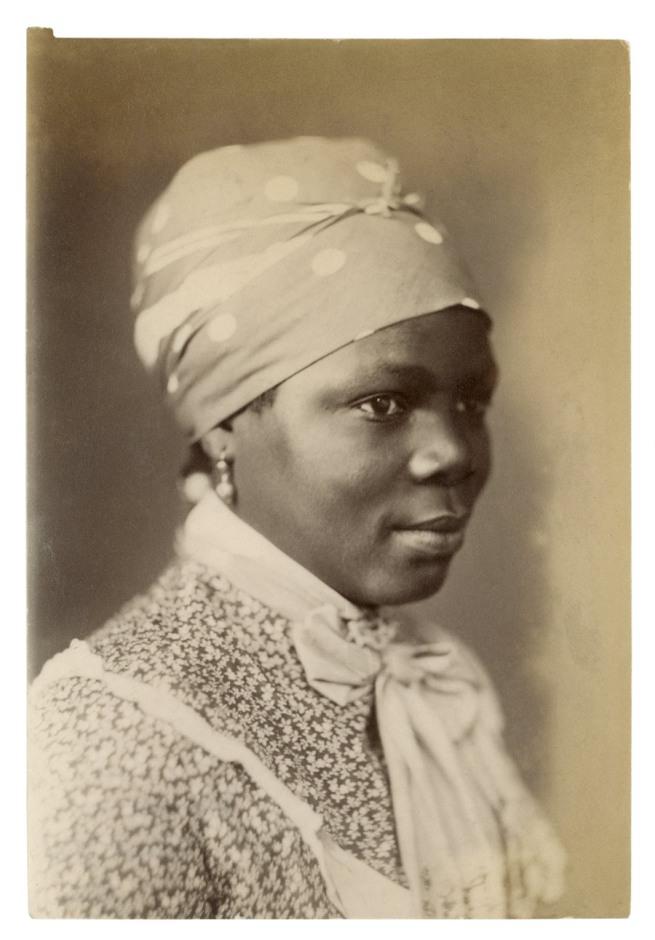 Samuel Baylis Barnard. 'Damara Servant Girl, S. Africa' South Africa, late nineteenth century