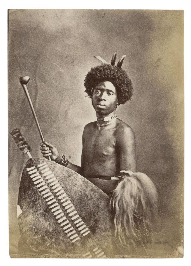 Samuel Baylis Barnard. 'Zulu Kaffir' South Africa, late nineteenth century