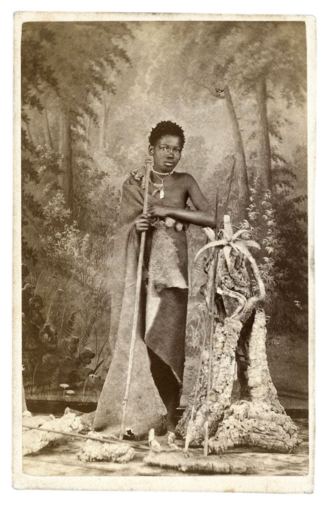 Unidentified photographer. 'Studio photograph of a man' South Africa, late nineteenth century