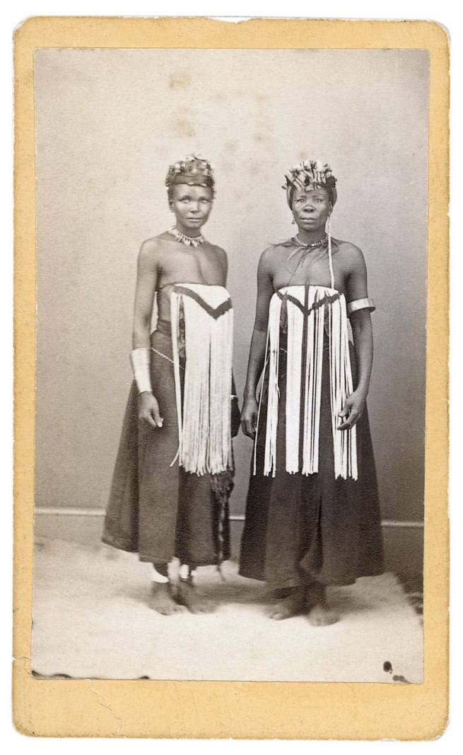 G. F. Williams. 'Studio photograph of two women' South Africa, c. 1870s
