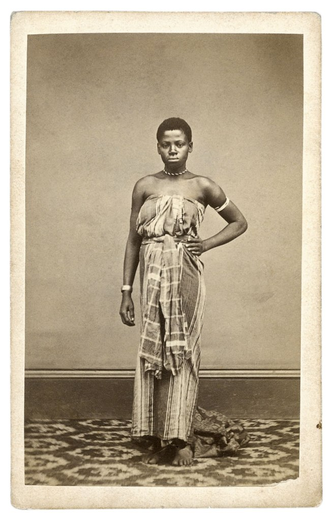Lawrence Brothers, Cape Town (attr.). 'Kaffir girl' South Africa, c. 1870s